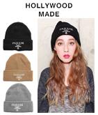 PARADE 刺繍ニット帽