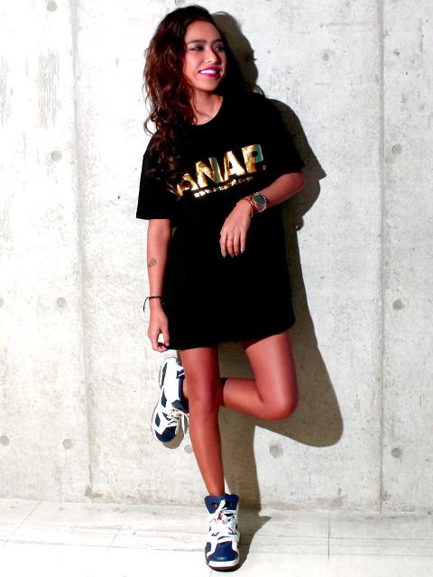 『ANAP』ロゴBIGTシャツ