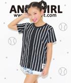 BASEBALL風ロゴシャツ