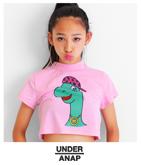 HIPHOP恐竜ハイネックTシャツ