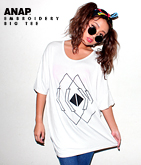 刺繍デザインBIGTシャツ