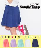 5カラー・プリーツテニススカート