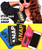 『ANAP』ロゴiPhone6/6sケース