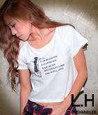 DYINGメッセージショートTシャツ