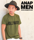 HOLLYWOODカットオフTシャツ