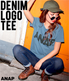 ��ANAP�٥?DENIM��T�����