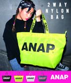 『ANAP』ロゴナイロンBAG