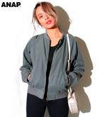 フェイクウールMA1ジャケット
