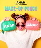 『ANAP』ロゴBIGメイクポーチ