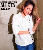 綿ブロードシャツ