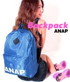 『ANAP』ロゴ ナイロンリュック