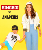 SINGBOI×ANAPKIDS メッシュTOPS