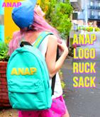 『ANAP』発泡ロゴリュック