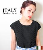 ITALY オリガミタックデザイントップス