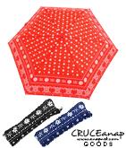 バンダナ柄折り畳み傘