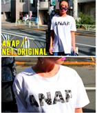 NETオリジナル ペイズリー『ANAP』ロゴTシャツ