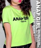 ANAP GiRL TOKYO Tシャツ