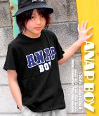 BOY2トーンロゴTシャツ