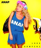 『ANAP』ロゴ ロンパース