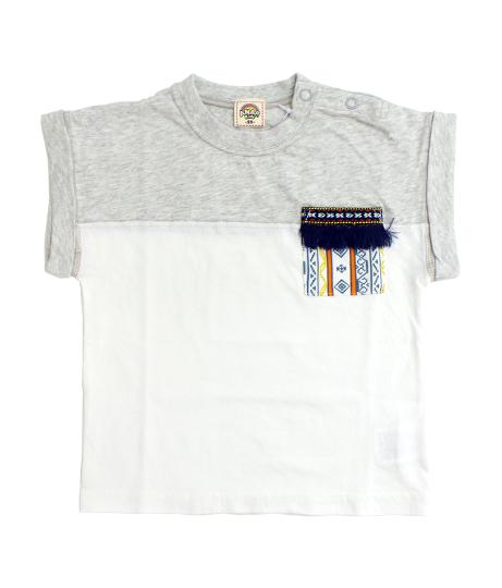 ネイティブポケットTシャツ
