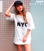 NYCプリントBIGTシャツ