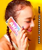 『ANAP』ロゴ×タイダイIPHONEケース