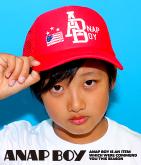 BOYアメリカロゴCAP
