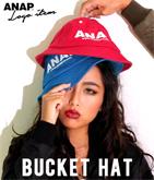 『ANAP』ロゴ刺繍バケットハット
