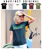 NETオリジナル 『ANAP』ロゴシンプルTシャツ