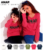 『ANAP』ロゴ ロングTシャツ