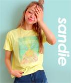 パイナップルオーガンジーTシャツ