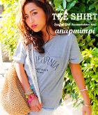 CALIFORNIAロゴTシャツ