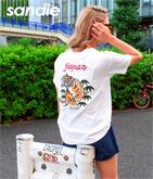 タイガー刺繍Tシャツ