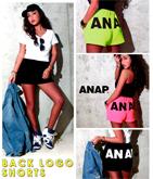 『ANAP』ロゴBACKショートパンツ