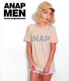 ANAPフロッキーロゴTシャツ