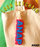 『ANAP』ロゴキーホルダー