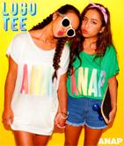 『ANAP』レインボーロゴTシャツ