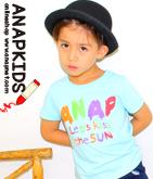 クレヨン風ロゴプリントTシャツ