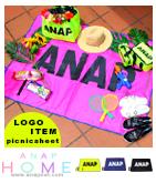 『ANAP』ロゴ折畳レジャーシート