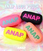『ANAP』ロゴ ポーチ