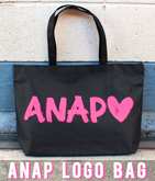 『ANAP』ロゴ トートバッグ