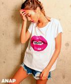 LIPプリントTシャツ