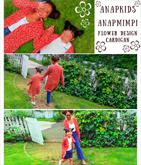 花柄ロングカーディガン【KIDSとお揃い】