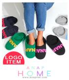 「ANAP」ロゴ入り配色スリッパ