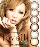 カラーコンタクト:loveil ラヴェール アクアリッチ (1箱10枚入り)