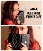 GOLDポイントiphone6ケース