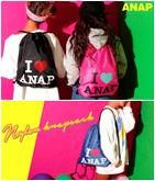 I LOVE『ANAP』ロゴナイロンナップザック
