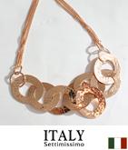 ITALY リングデザインネックレス
