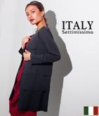 ITALY カットオフティアードジャケット