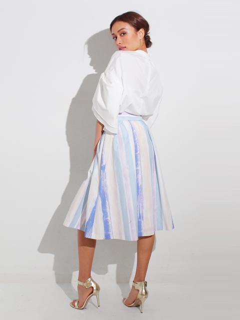 ペインテッドストライプスカート
